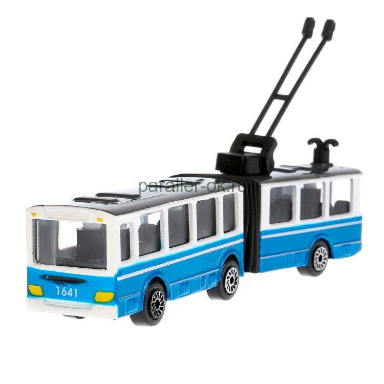 троллейбус игрушка купить